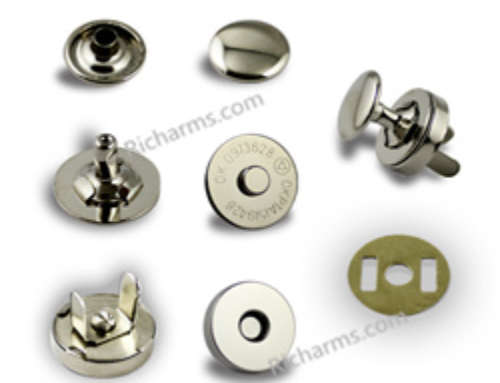 Richarms Magnetic Snaps Production – Single/Double rivet magnetic snaps